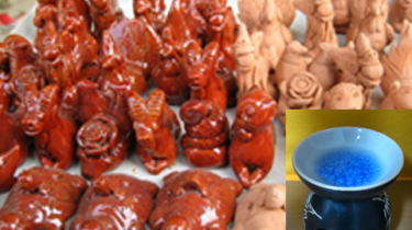 お土産品・ホイアンの伝統焼き物のベトナムからの輸入、買付け、仕入れはベトナムジャパンまで